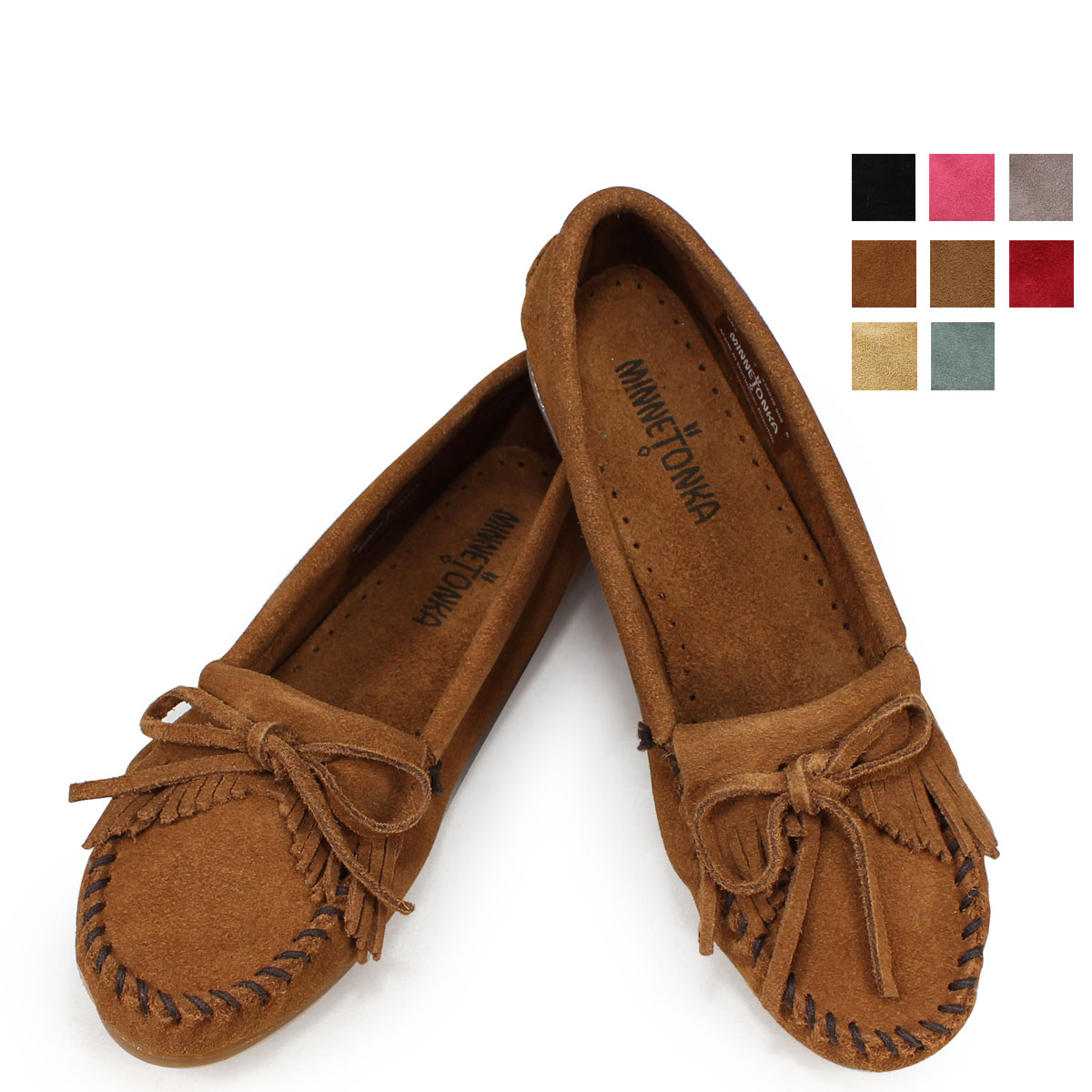 c6f9934d6ec Whats up Sports  Suede hard sole HARDSOLE KILTY SUEDE MOC Womens ...