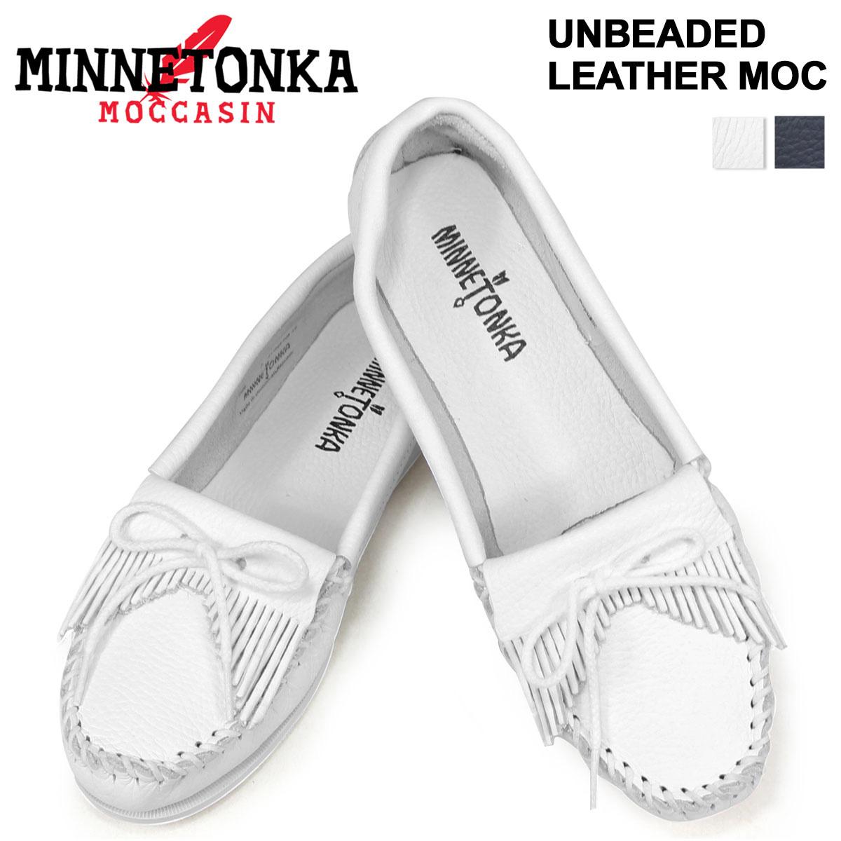 cf492831df32 MINNETONKA Minnetonka moccasins an beaded leather UNBEADED LEATHER MOC women