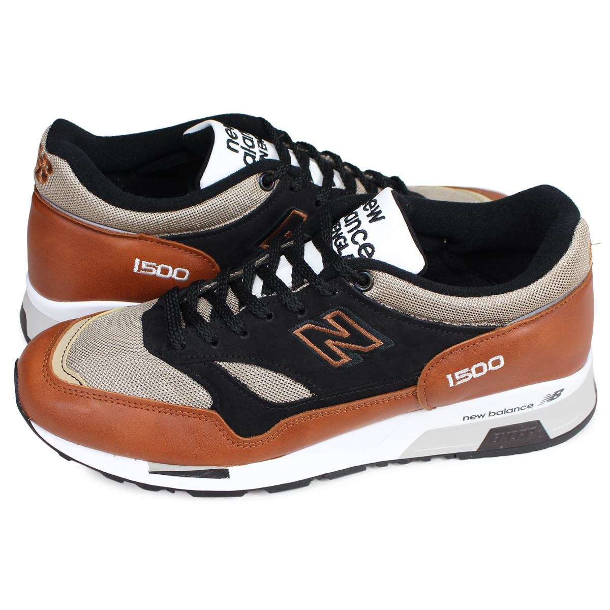 best service a72ef 88302 new balance M1500TBT New Balance 1500 sneakers men D Wise MADE IN UK brown