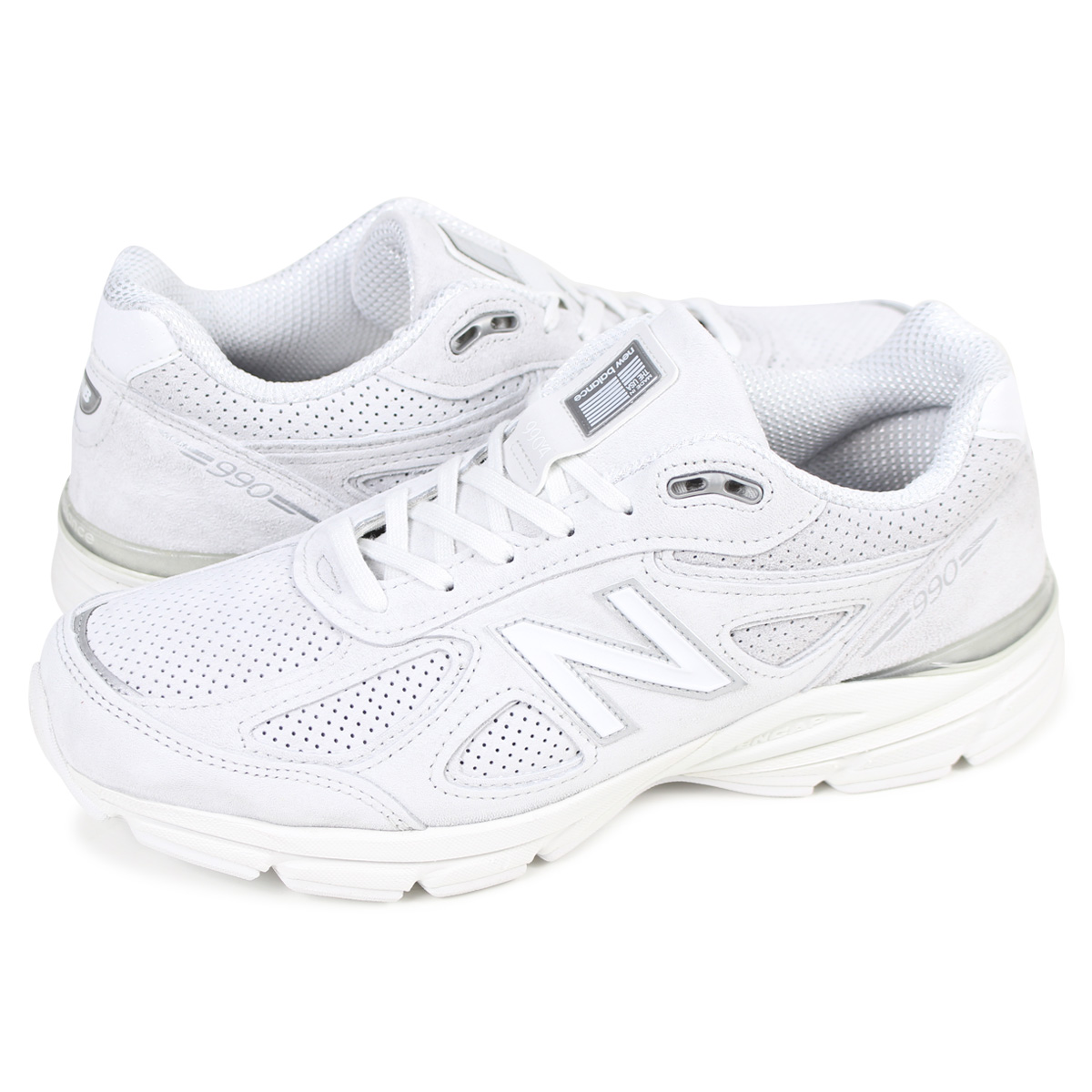buy popular 3a3d8 127a0 new balance 990 New Balance sneakers men D Wise MADE IN USA gray M990AF4