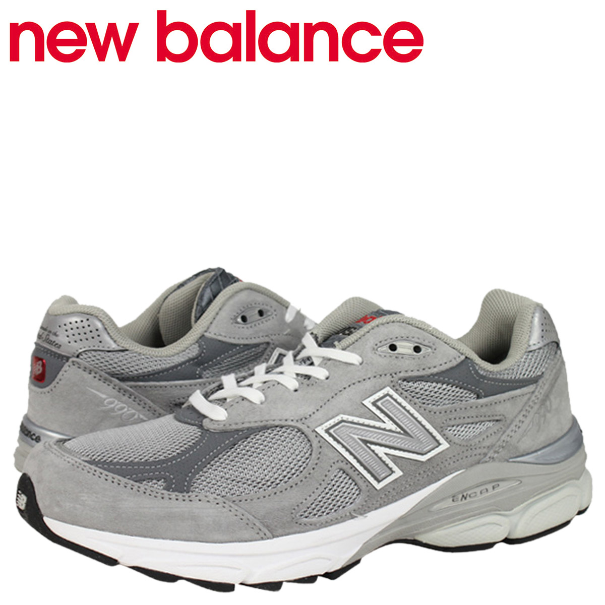 the best attitude 4ba31 8a623 new balance new balance 990 M990 GL3 MADE IN USA sneaker M990GL3 D wise  men's shoes grey