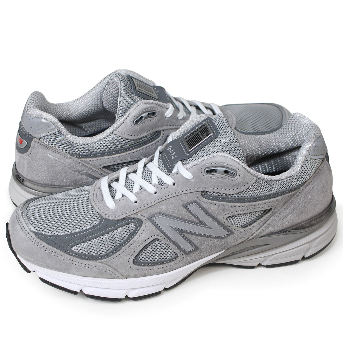 the latest 2603a ba718 new balance 990 New Balance sneakers men D Wise gray M990GL4