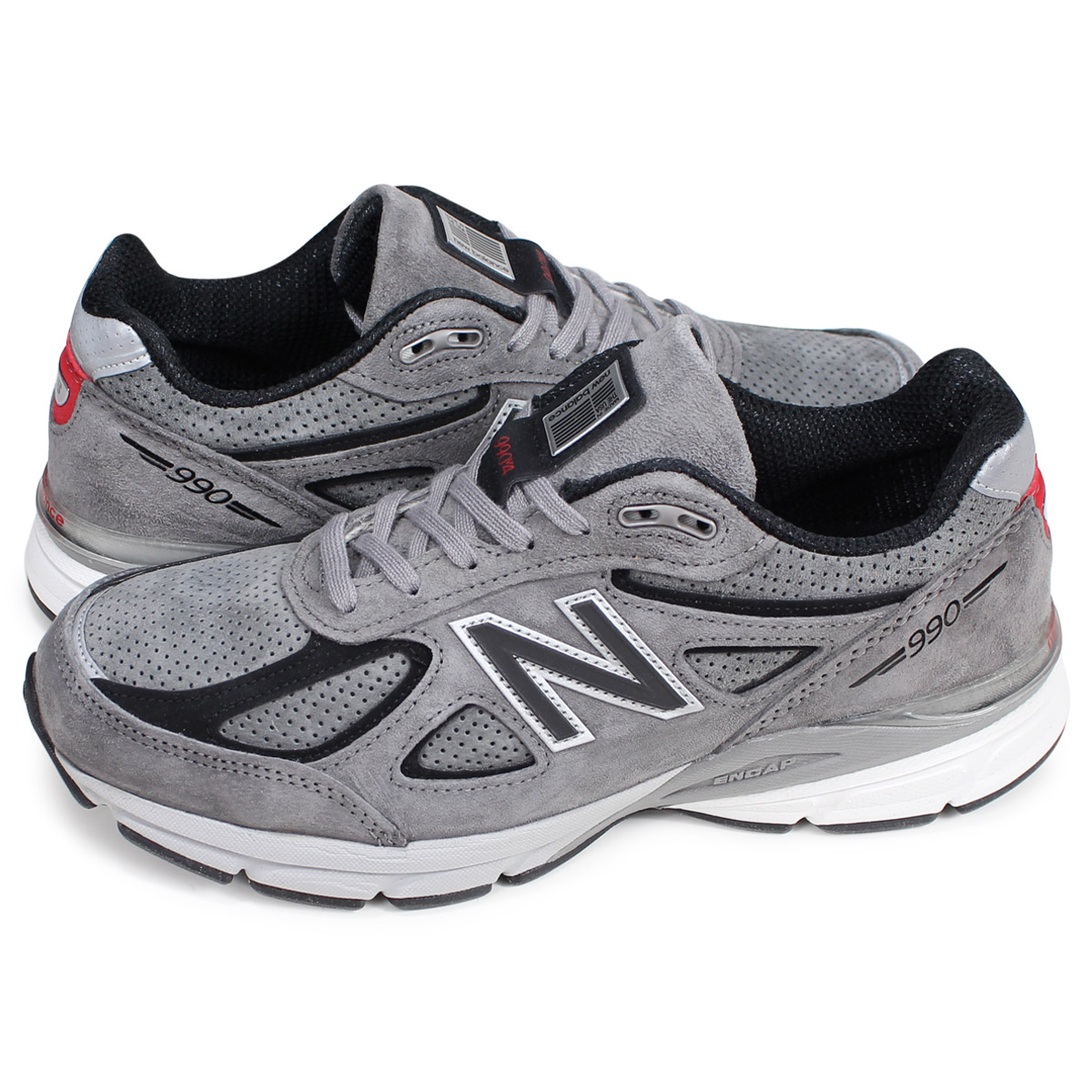 quality design c37c3 171a2 new balance M990SG4 New Balance 990 sneakers men D Wise MADE IN USA gray