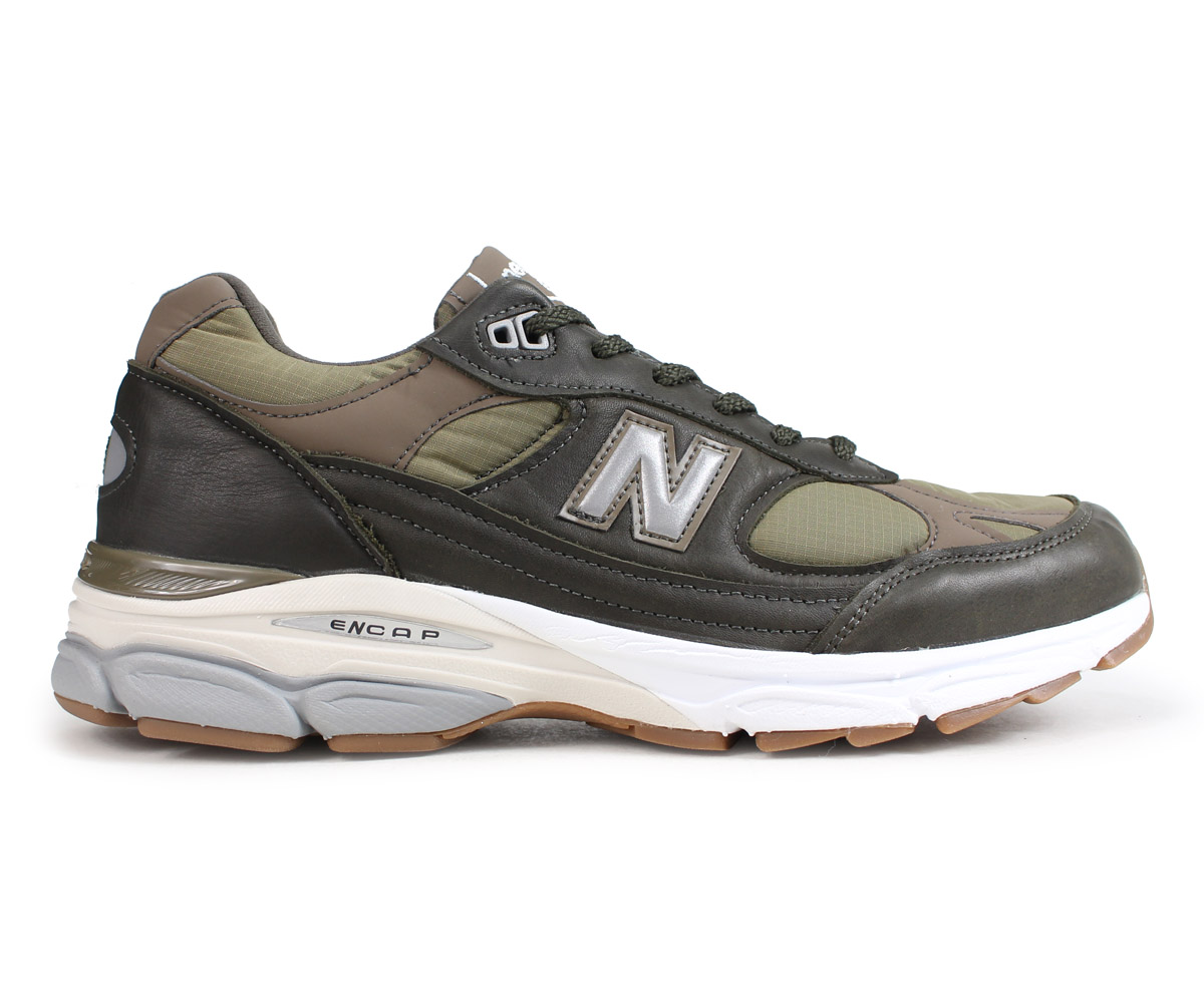 4bc26fa4709 ... new balance M9919LP New Balance 991 men's sneakers D Wise MADE IN UK  olive [load ...