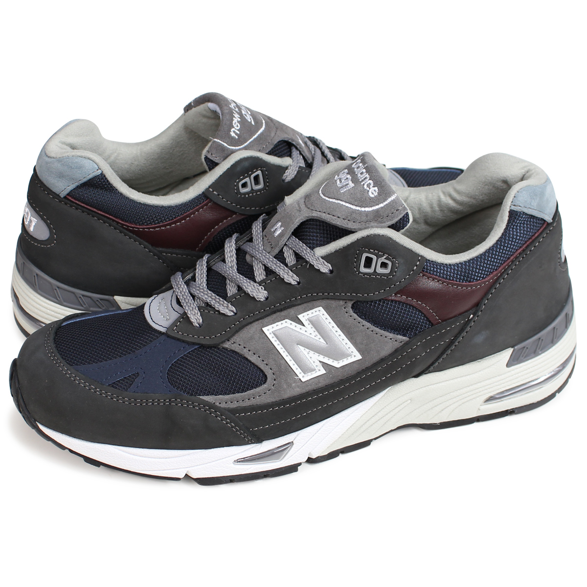 photos officielles 7eccb d73fd new balance M991GNN MADE IN UK New Balance 991 men's sneakers D Wise gray
