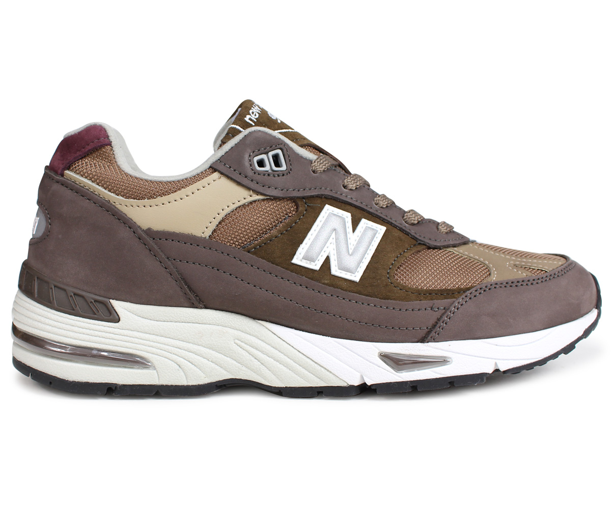 8ef72afb2c5 ... new balance M991NGG MADE IN UK New Balance 991 men's sneakers D Wise  brown ...