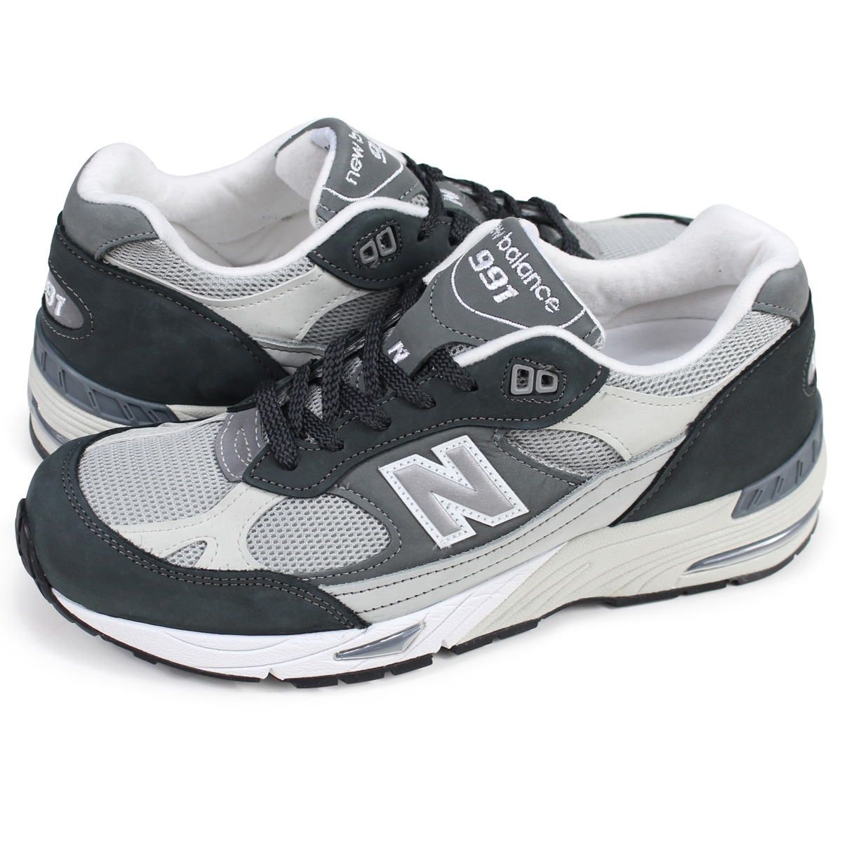 new balance M991XG New Balance 991 men's sneakers D Wise MADE IN UK gray [the load planned additional arrival in reservation product 1017 containing]