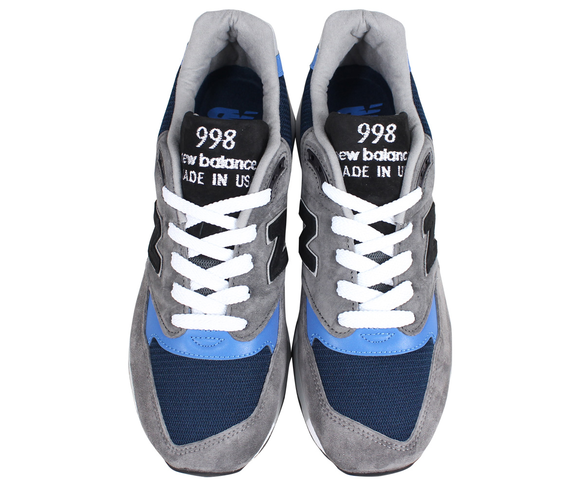 brand new 37e22 4c488 new balance M998NF New Balance 998 men s sneakers D Wise MADE IN USA gray   load planned Shinnyu load in reservation product 9 6 containing