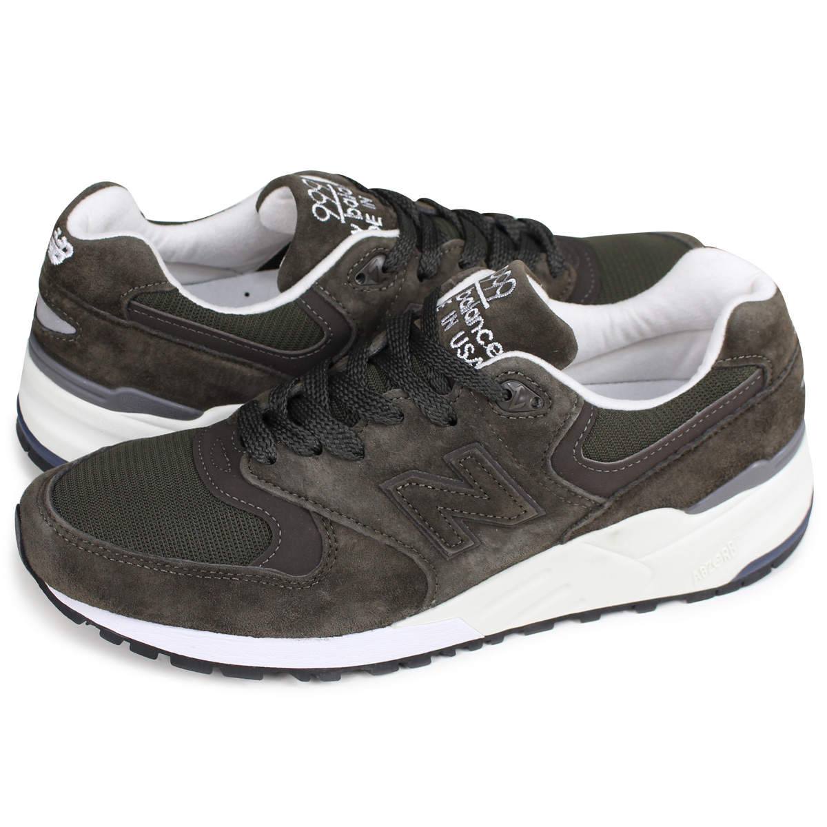 new style 75638 26809 new balance M999NJ New Balance 999 men's sneakers D Wise MADE IN USA dark  green