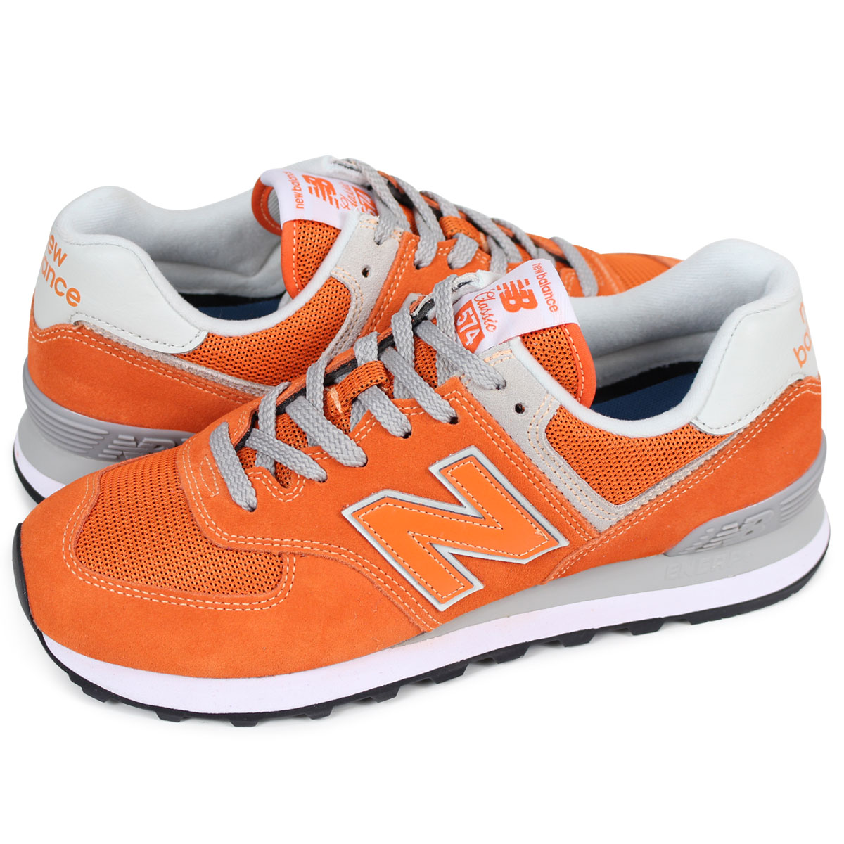 online store d740c 5af45 new balance ML574EVO New Balance 574 men's lady's sneakers D Wise orange