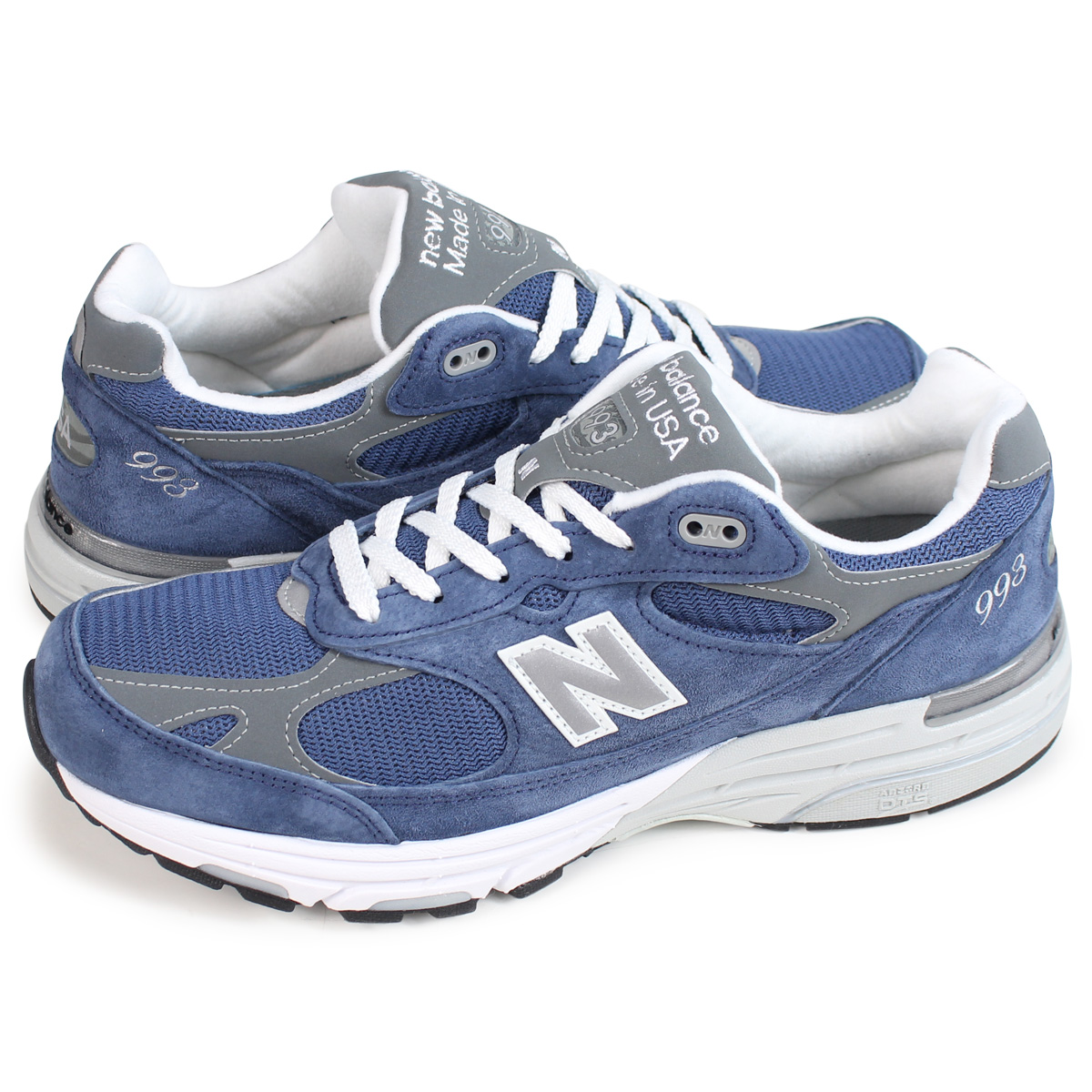 reputable site f46e0 9b535 new balance MR993VI New Balance 993 men's sneakers D Wise MADE IN USA blue