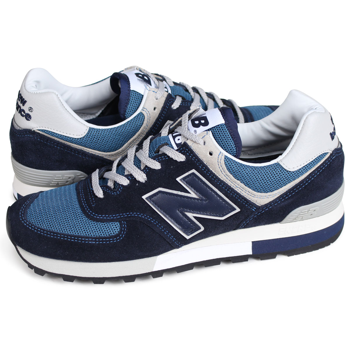 best sneakers 3af5f b4cb0 new balance OM576OGN New Balance 576 men's sneakers D Wise MADE IN UK navy