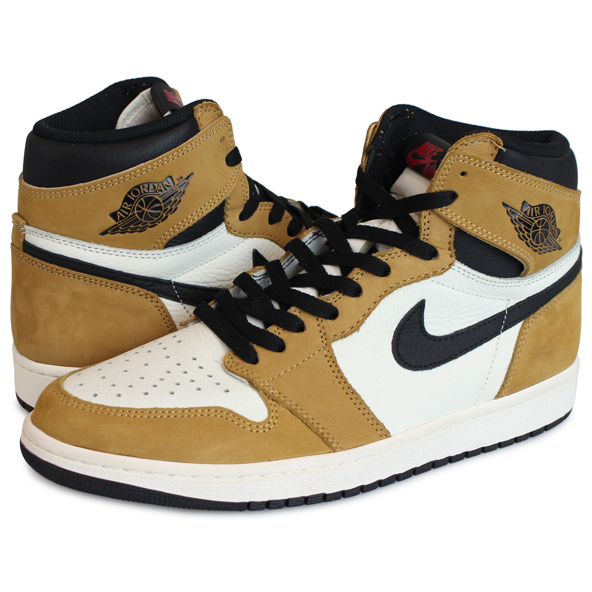 reputable site new collection where can i buy Nike NIKE Air Jordan 1 nostalgic high sneakers men AIR JORDAN 1 RETRO HIGH  OG ROOKIE OF THE YEAR brown 555,088-700
