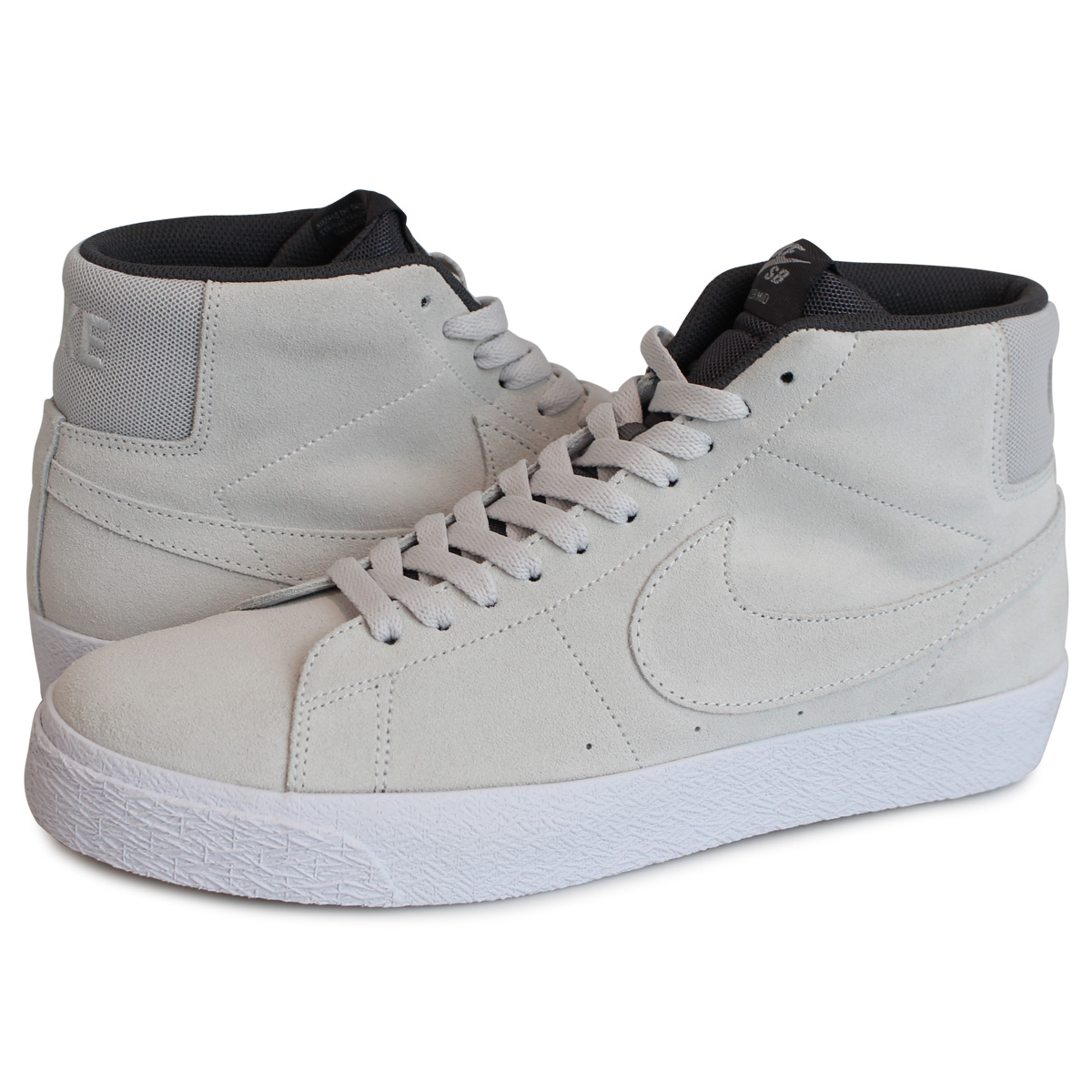 new concept 895fd d5aa1 Nike NIKE SB blazer mid sneakers men BLAZER MID gray 864,349-003 [the load  planned additional arrival in reservation product 9/6 containing]
