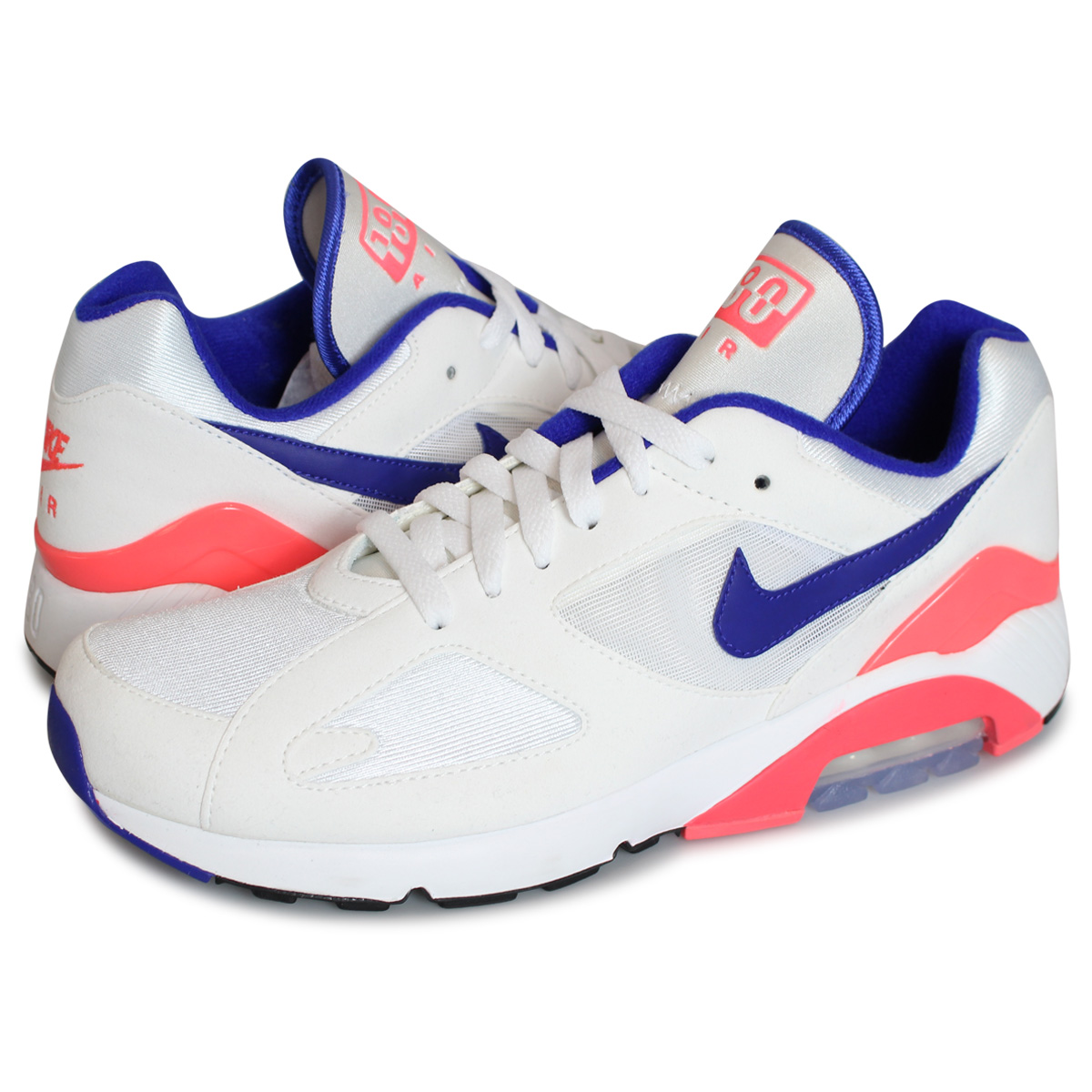 white AIR 180 Nike NIKE WMNS 180 men 100 sneakers MAX AH6786