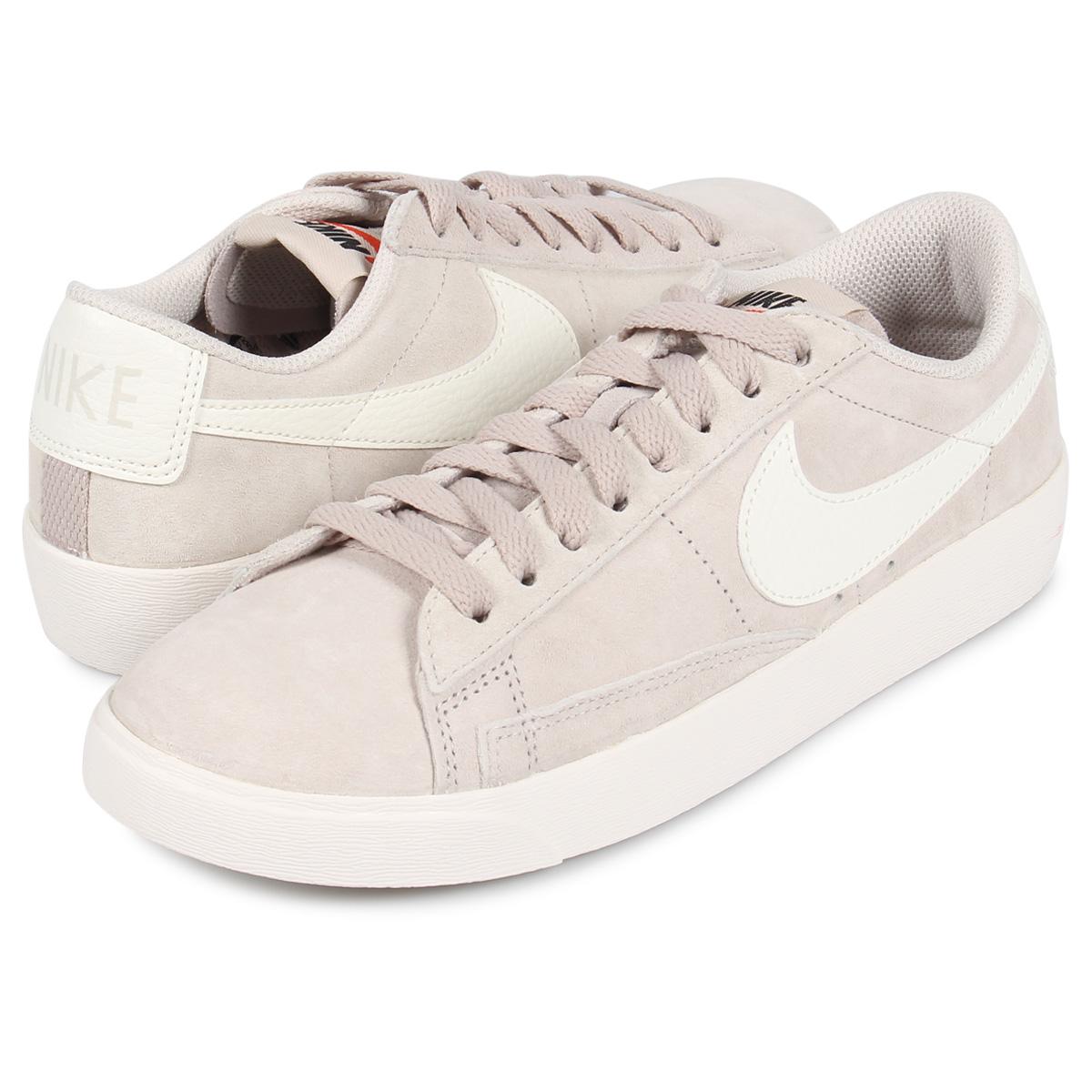 pretty nice f4ac6 b4f67 Nike NIKE blazer low sneakers Lady's WMNS BLAZER LOW SD beige AV9373-002  [7/26 Shinnyu load]