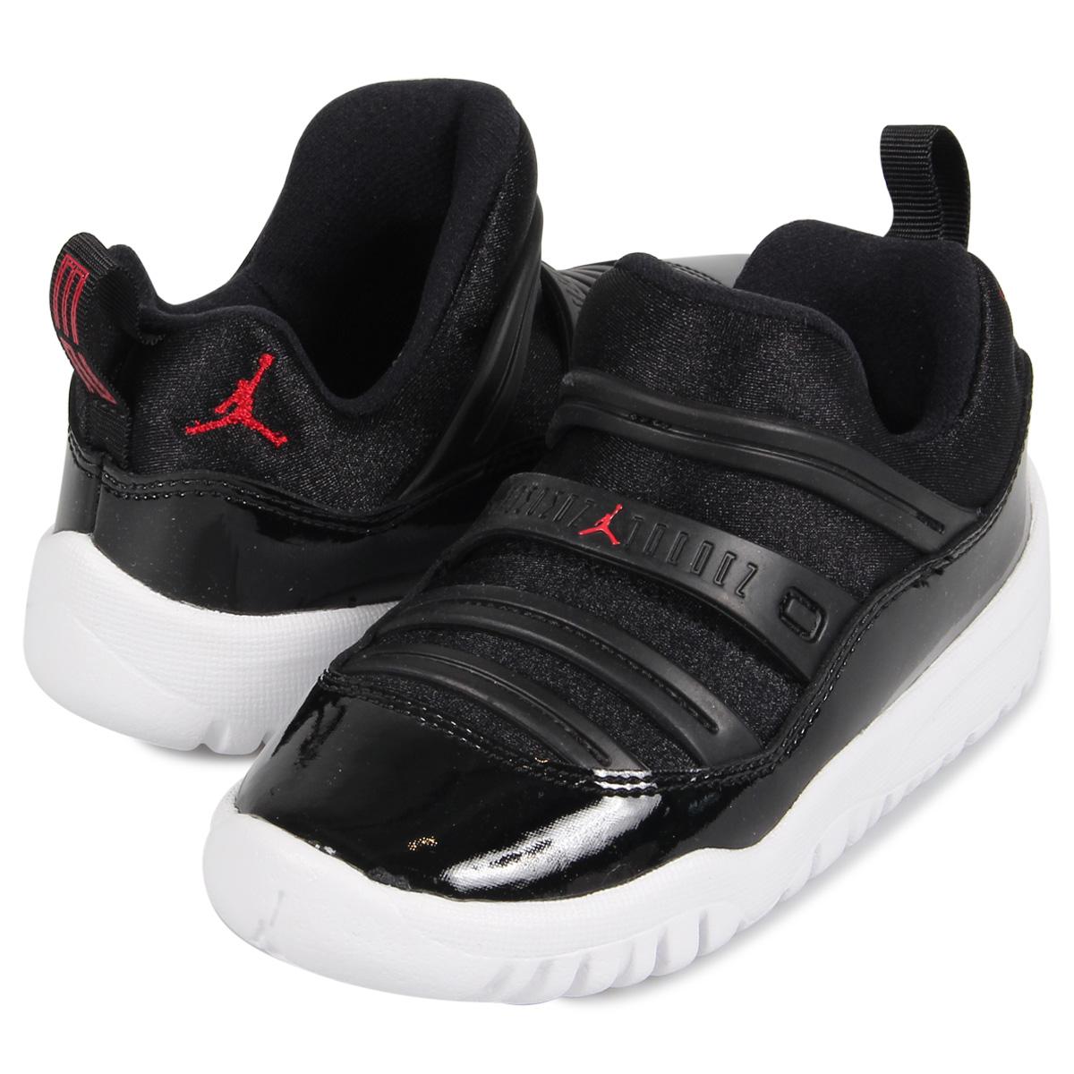 new style e8f10 4e366 Nike NIKE Air Jordan 11 nostalgic sneakers slip-ons baby kids AIR JORDAN 11  RETRO LITTLE FLEX TD black black BQ7102-002