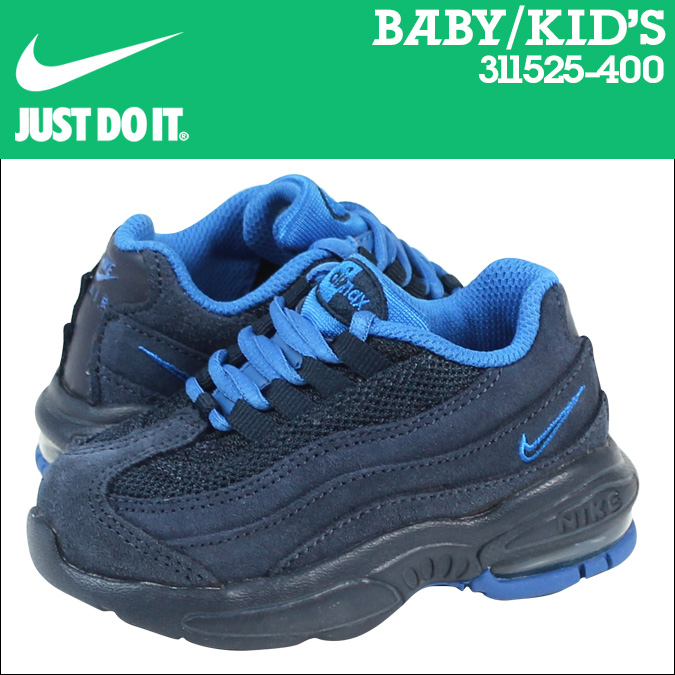 Nike Air Max 95 Enfants Bleu Marine