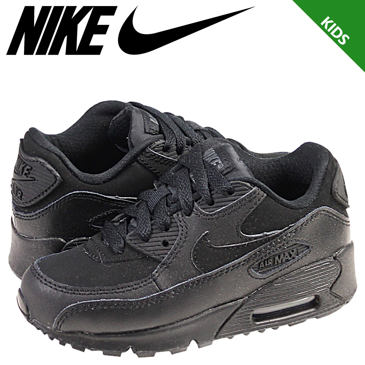 NIKE Nike Air Max sneakers kids PS AIR MAX 90 Air Max 90 307794 091 shoes black