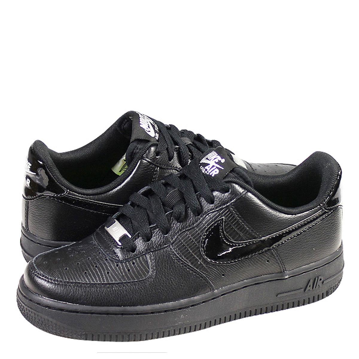 115 Sneakers Lady's Wmns 037 Black Force 1 Nike Air Men's Shoes 07 315 45ALq3Rj