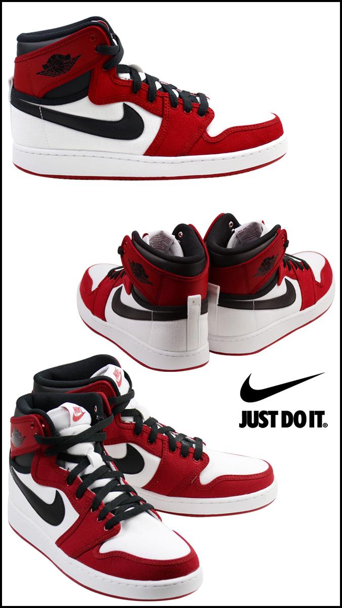 premier taux eaec7 fb902 NIKE Nike Air Jordan sneakers AIR JORDAN 1 RETRO KO HIGH CHICAGO Air Jordan  1 retro 638471 - 101 men's shoe Red