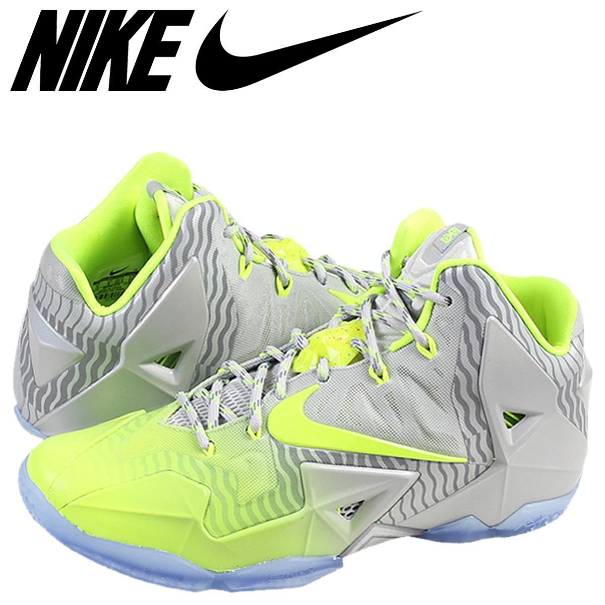 online retailer b1d47 6f09b NIKE Nike LeBron sneakers LEBRON 11 MAISON LEBRON COLLECTION LeBron 11  683252-074 men's shoes grey