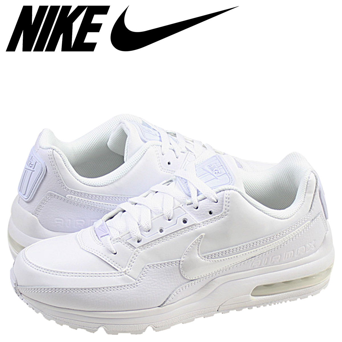 new style 0d011 2daaf Whats up Sports NIKE Nike Air Max sneakers AIR MAX LTD 3 Air Max Ltd  687977-111 mens shoe white  Rakuten Global Market
