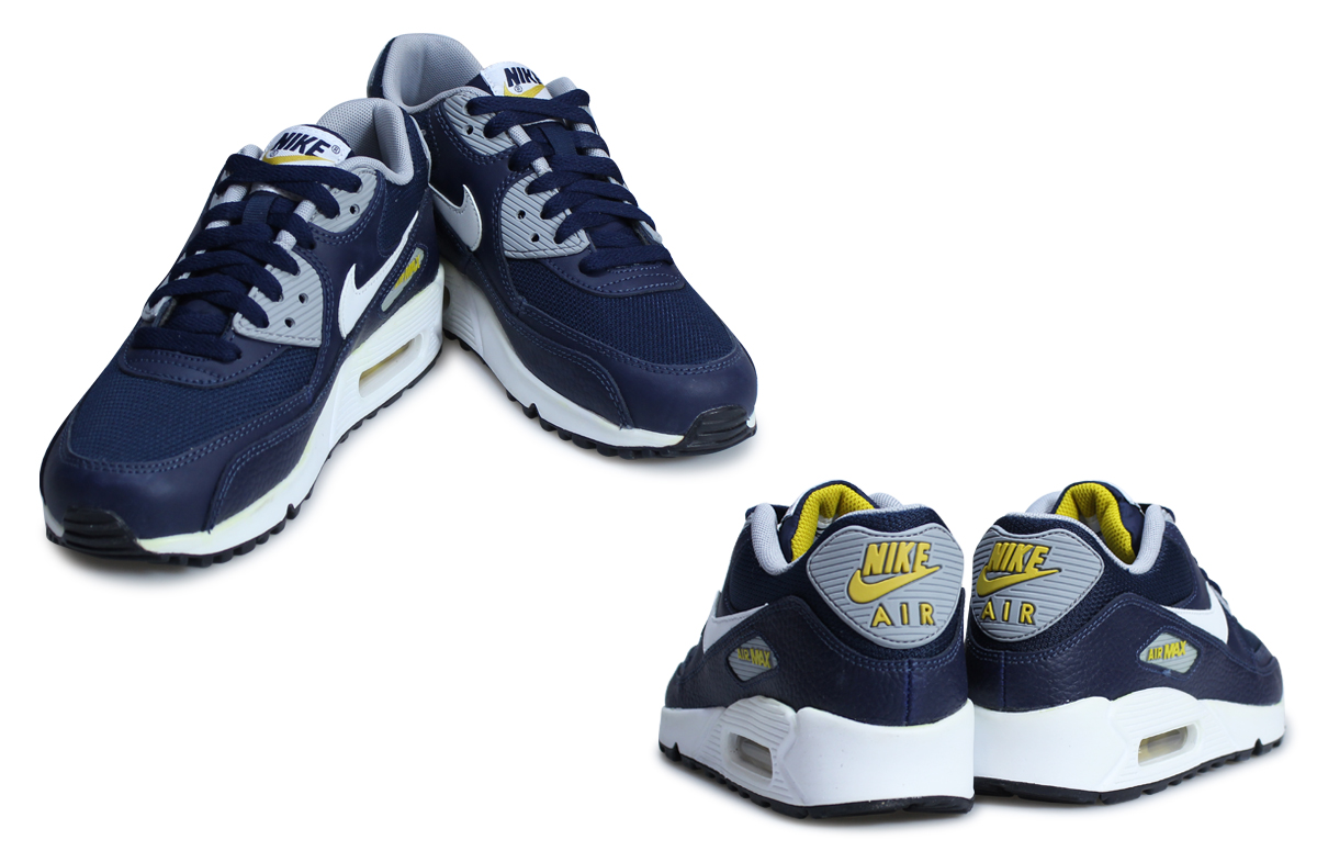 Nike Air Max 90 Essential Midnight Navy Sneaker Bar Detroit