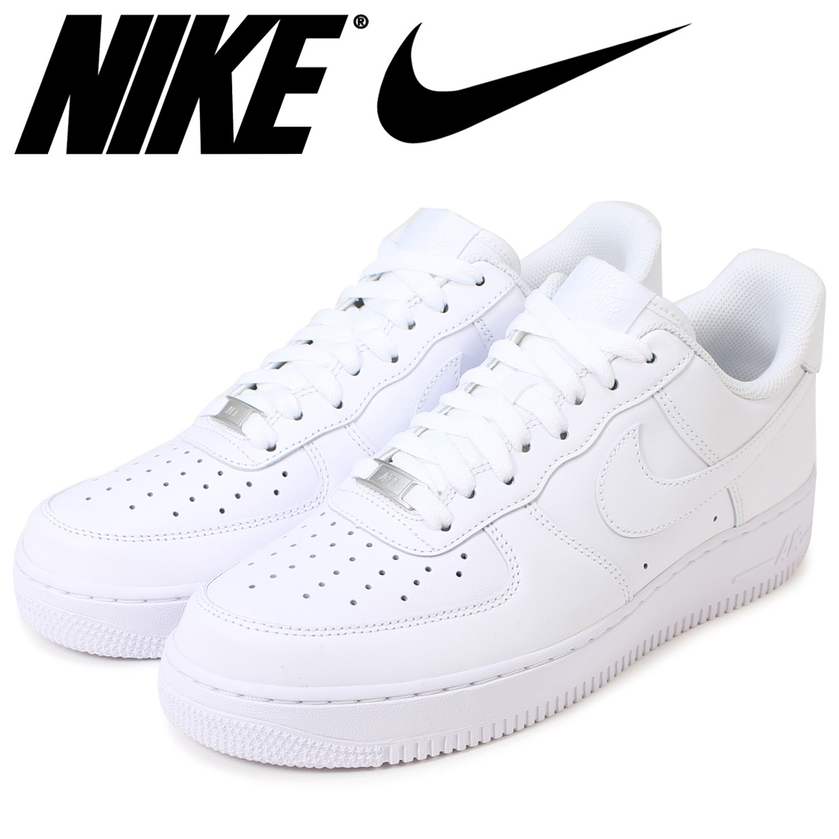 NIKE AIR FORCE 1 '07 LOW MEN'S SNEAKERS WHITE 315122-111