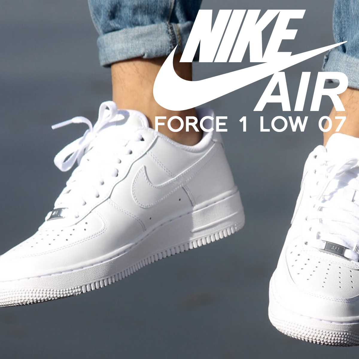 new product 19177 eef20 NIKE Nike Air Force sneakers AIR FORCE 1 LOW 07 air force 1 low 315122 -  111 mens womens shoes white 82 Add in stock