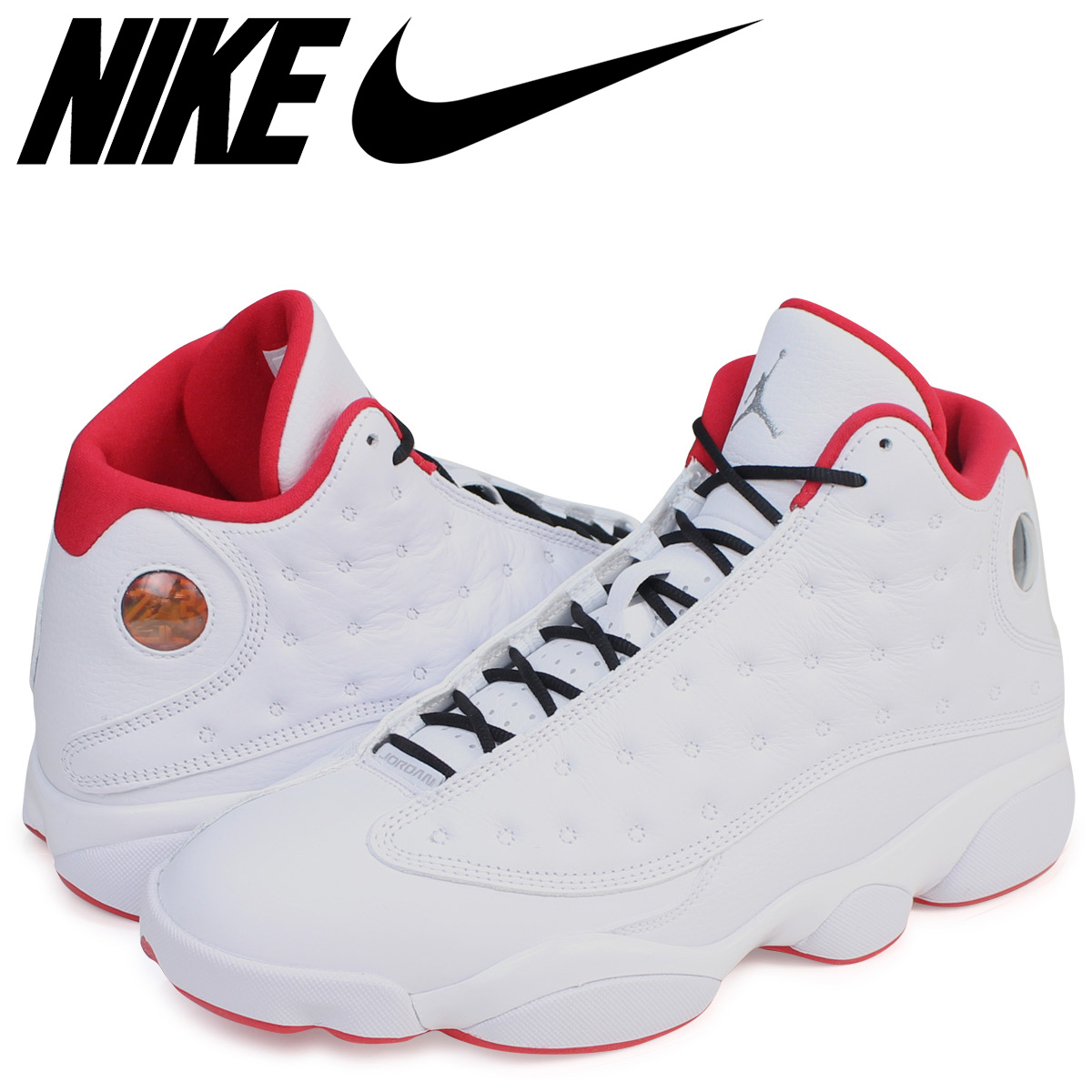 sports shoes 11cf0 2ca72 NIKE AIR JORDAN 13 RETRO Nike Air Jordan 13 nostalgic sneakers men 414,571-103  white
