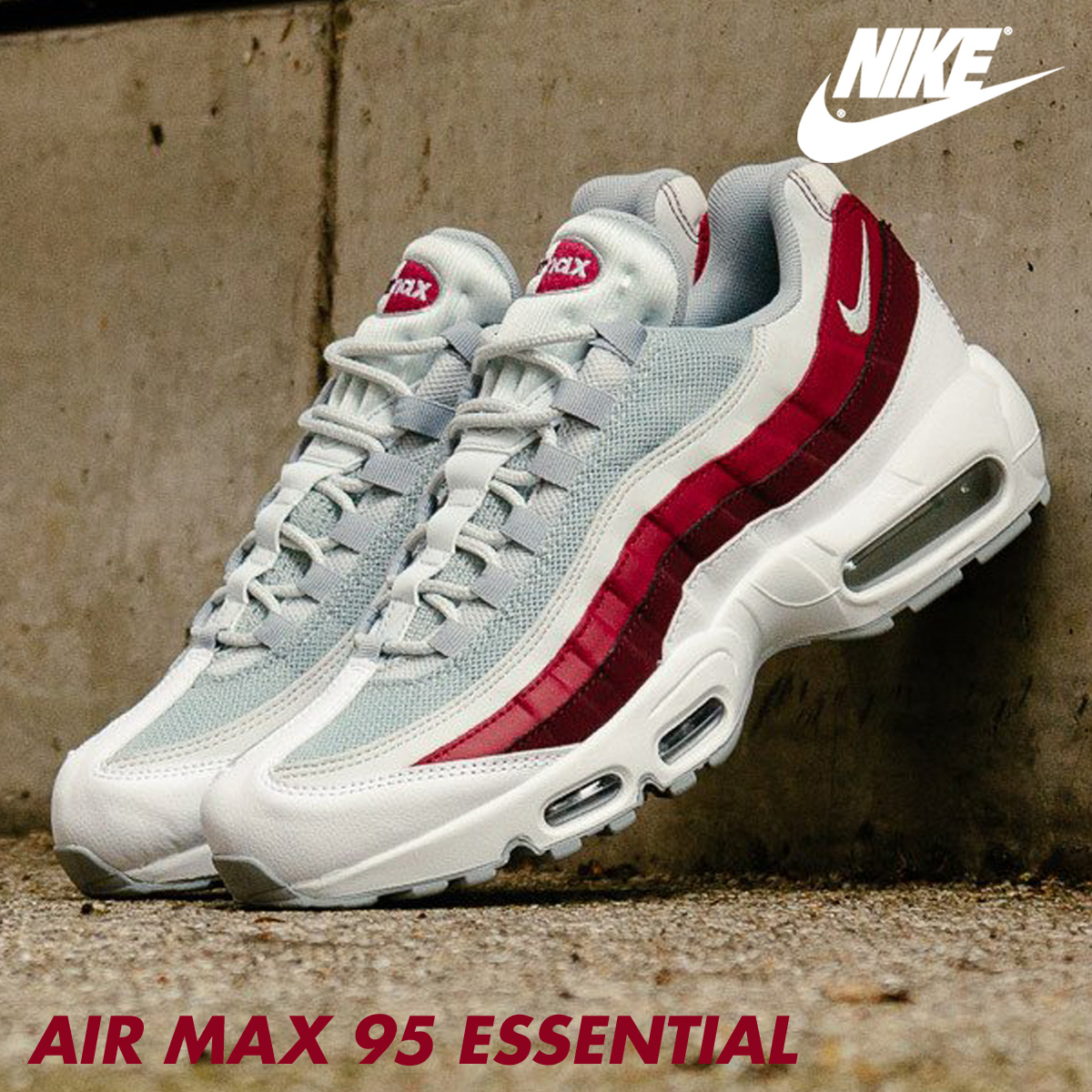 info for 37213 32b92 ... Nike NIKE Air Max 95 essential sneakers AIR MAX 95 ESSENTIAL  749,766-103 men s shoes ...