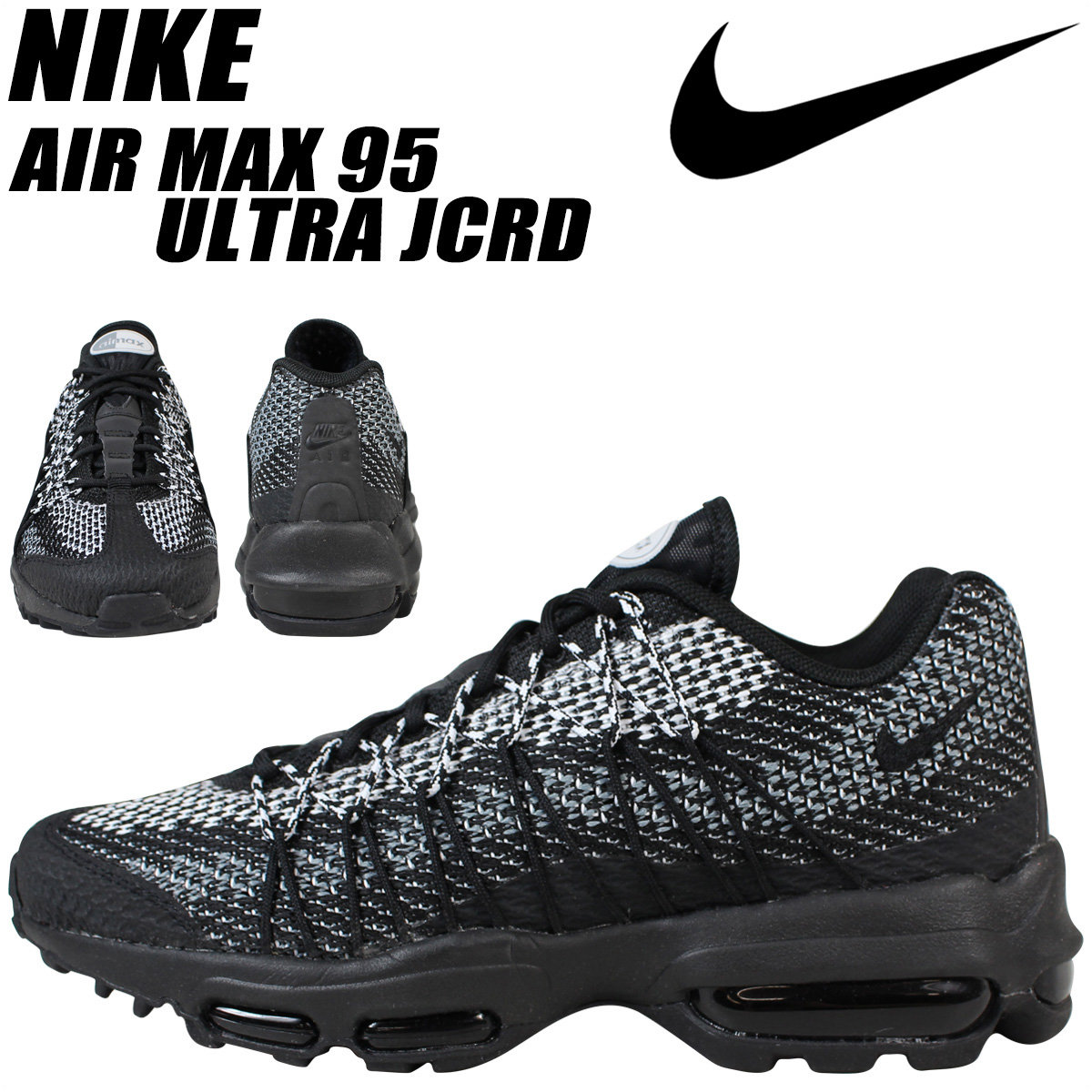 da7ecf8071 nike air max 95 ultra jcrd black