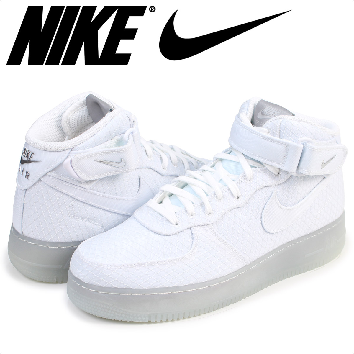 Nike Blanco Air Force 1 Mid Blanco Nike Grecia 08d1ff