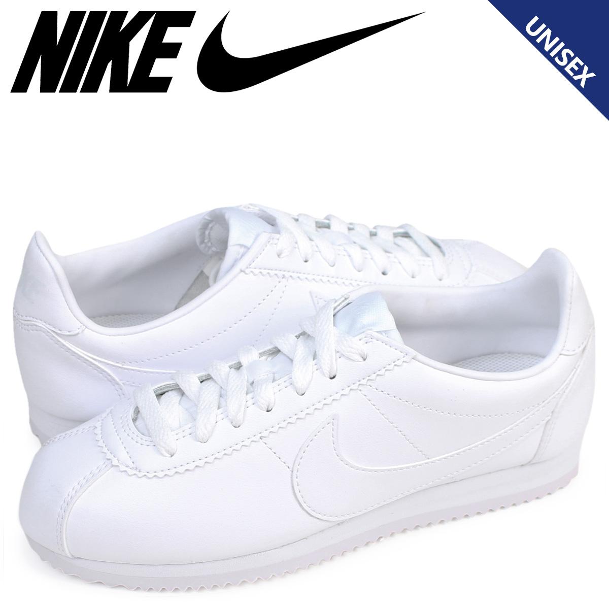 info for ae1b1 db84a Whats up Sports  Nike NIKE コルテッツクラシックレザーレディーススニーカー WMNS CLASSIC CORTEZ  LEATHER 807,471-102 shoes white  7 29 Shinnyu load    Rakuten ...