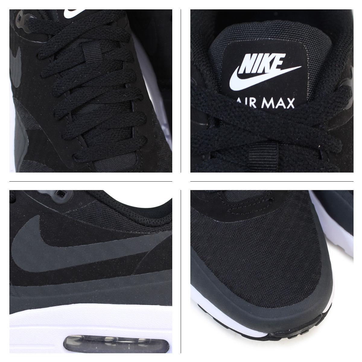NIKE Kie Ney AMAX men sneakers AIR MAX 1 ULTRA ESSENTIAL 819,476 004 819,476 105 shoes black black white white