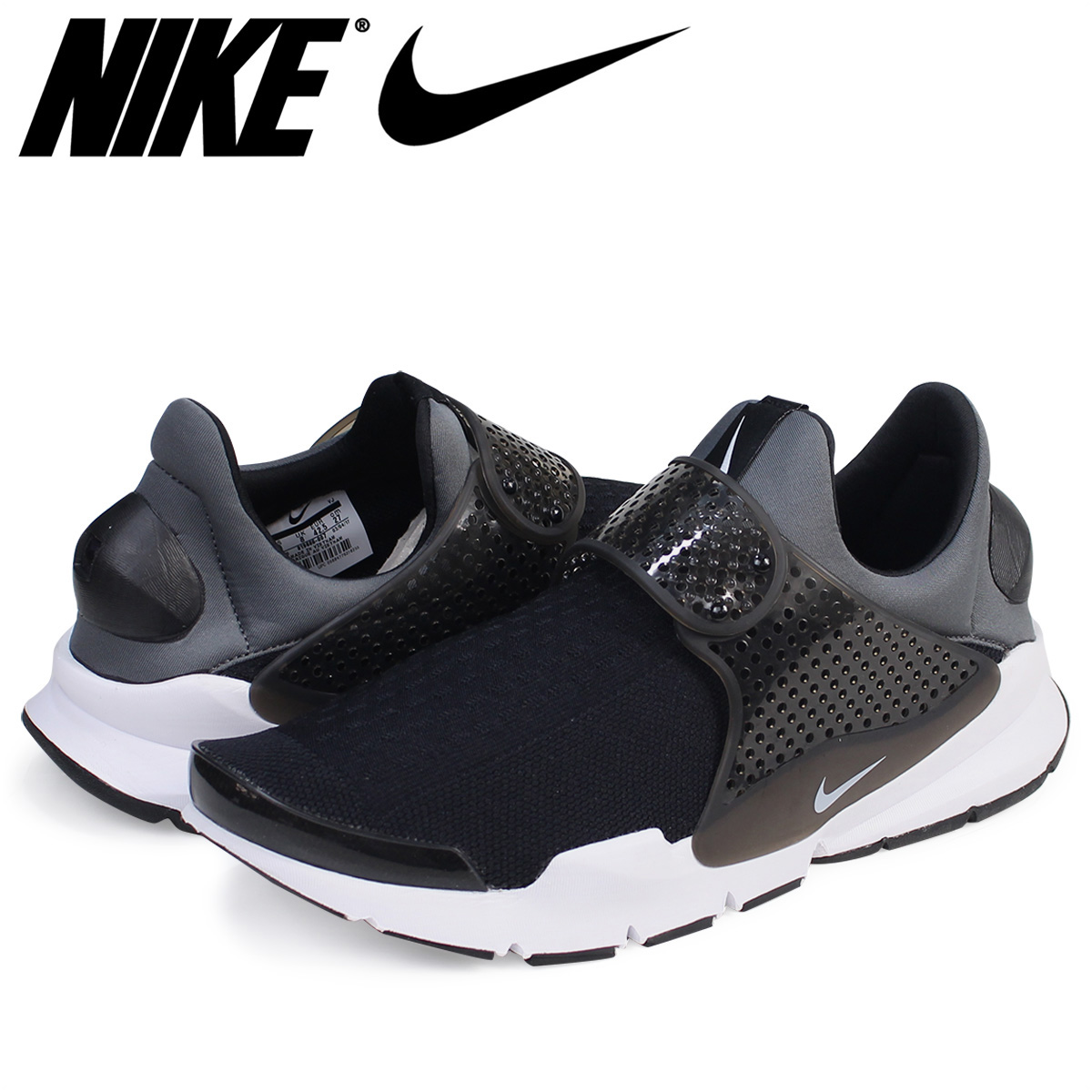 watch e1a9c 19b56 Nike NIKE ソックダートスニーカー SOCK DART KJCRD 819,686-007 men's shoes black [7/29  Shinnyu load]