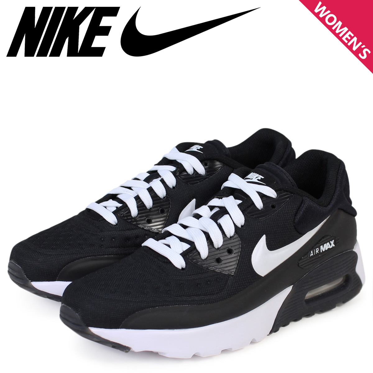 best service 87569 8ec1d Nike Air Max Womens NIKE sneakers AIR MAX 90 ULTRA SE GS Air Max 844599-001  black shoe [11 / 26 new in stock]