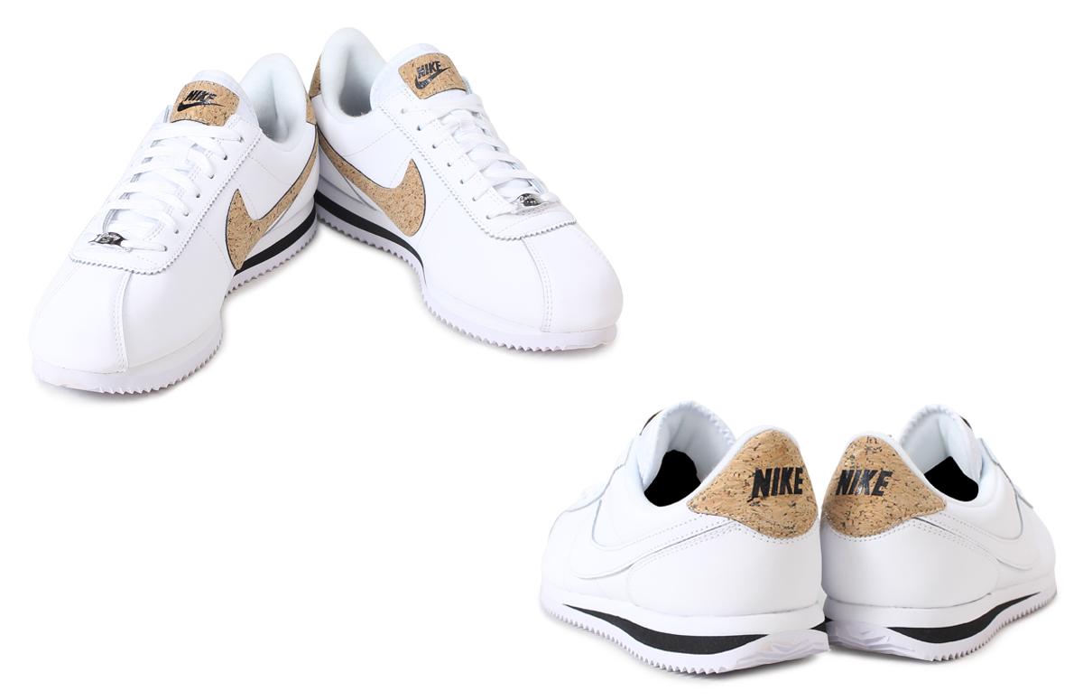 耐吉NIKE korutettsurezasunika CORTEZ BASIC LEATHER PREMIUM 876874-001 876874-100人鞋[3/6新進貨]