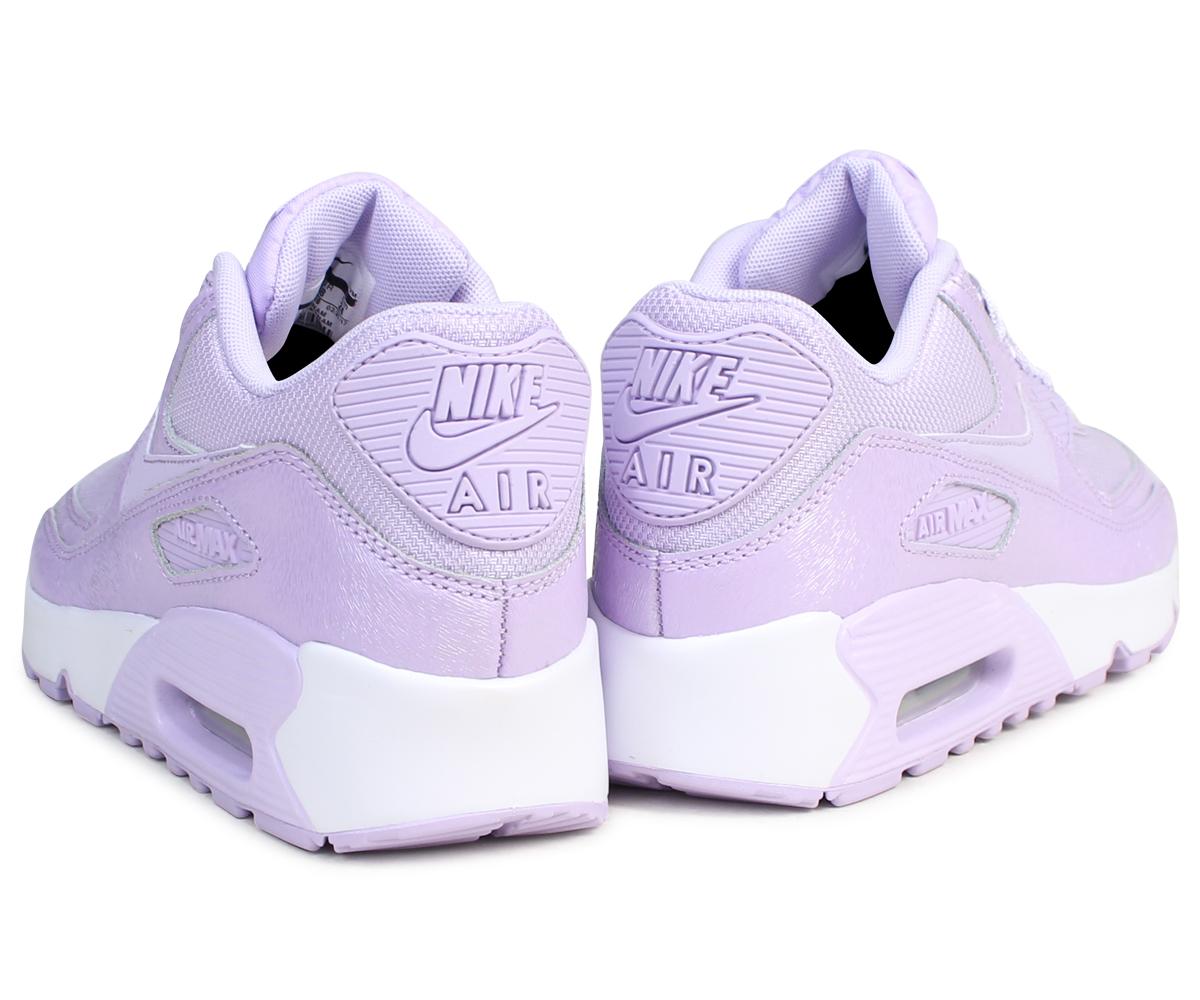 Nike NIKE Air Max 90 Lady's sneakers AIR MAX 90 SE MESH GS 880,305 500 shoes purple [727 Shinnyu load]