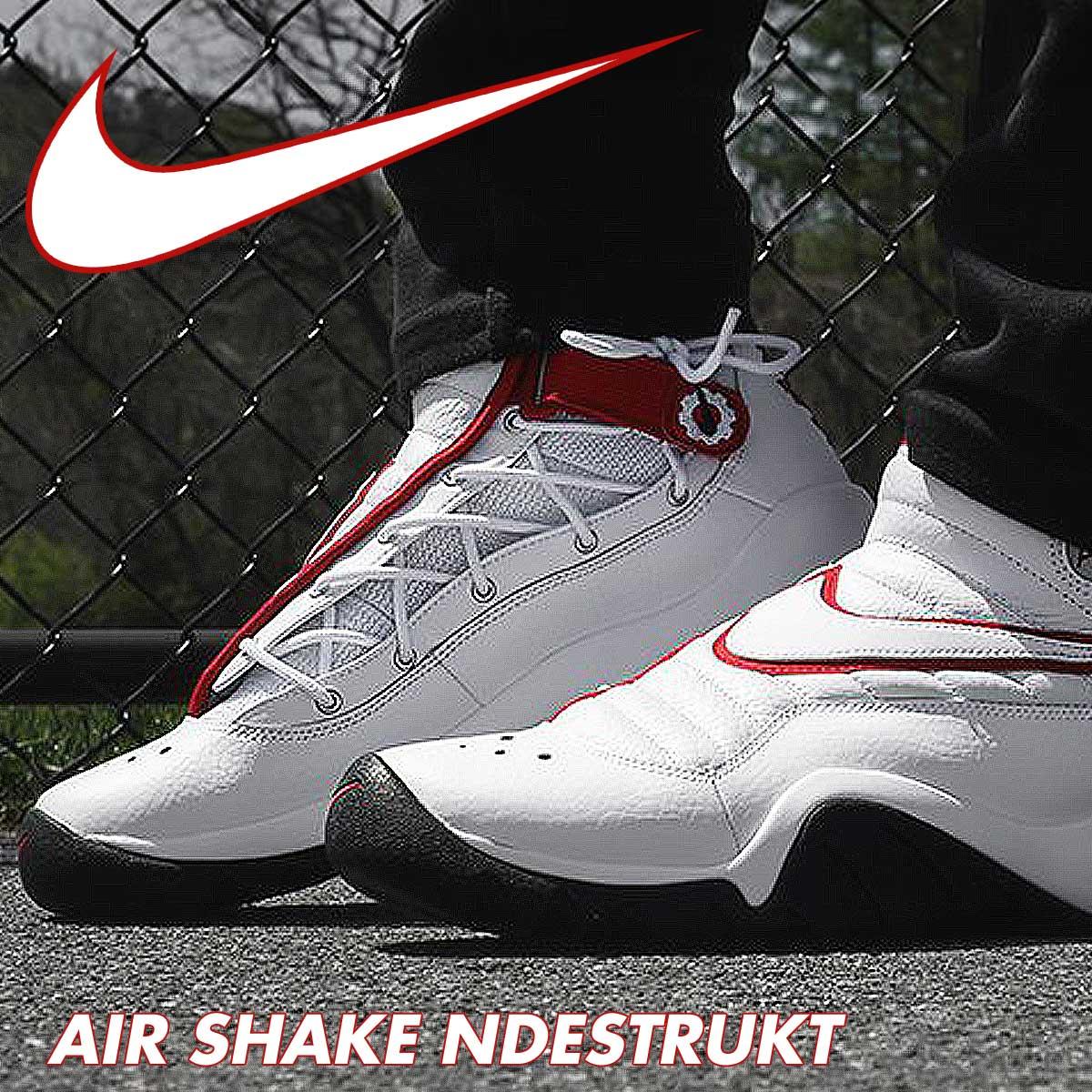 sports shoes c899c 89d37 ... Nike NIKE air shake sneakers AIR SHAKE NDESTRUKT エアシェイクインデストラクト 880,869- 100 men s ...