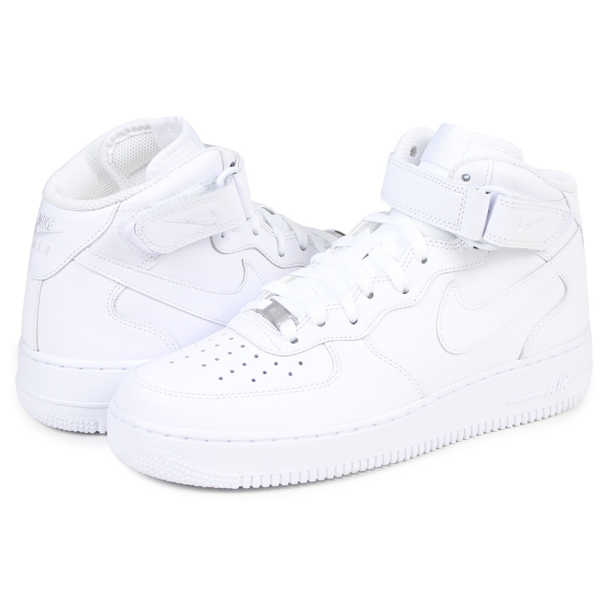 Nike NIKE air force 1 sneakers men AIR FORCE 1 MID 07 315,123 111 white white