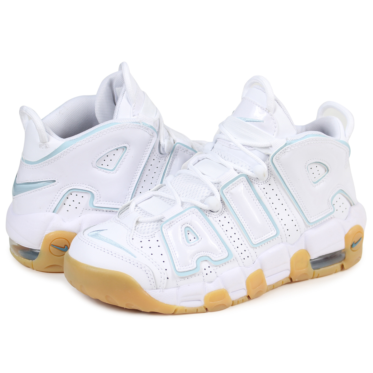 b0b8b82b28 NIKE AIR MORE UPTEMPO GS Nike air more up tempo Lady's sneakers 415,082-107  white ...
