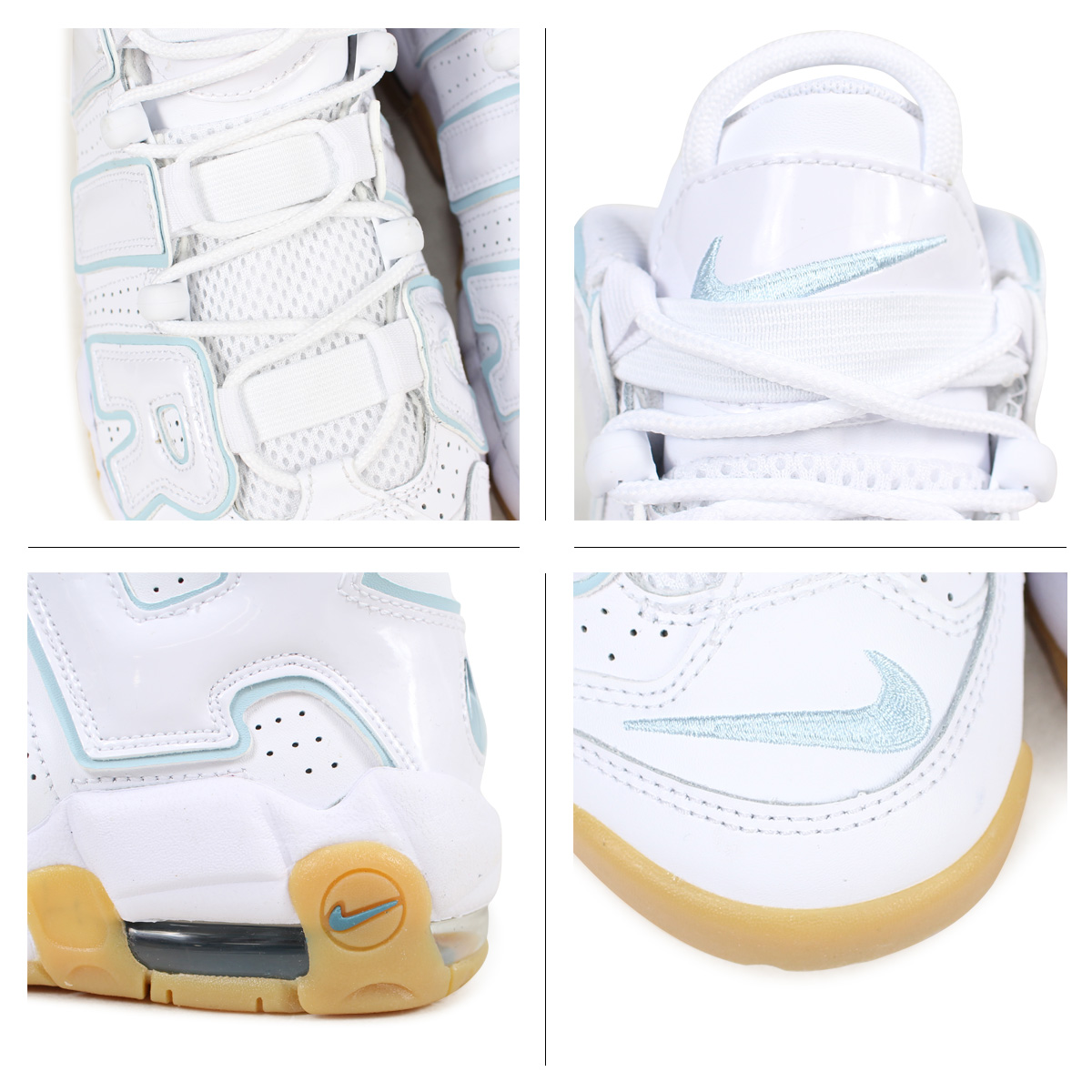 6045e99d75 ... NIKE AIR MORE UPTEMPO GS Nike air more up tempo Lady's sneakers 415,082- 107 white ...
