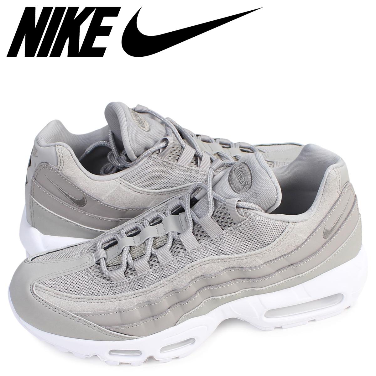 uk availability 9c789 3ad95 Whats up Sports: Nike NIKE Air Max 95 sneakers AIR MAX 95 PREMIUM 538,416- 005 men's shoes gray [8/9 Shinnyu load] | Rakuten Global Market