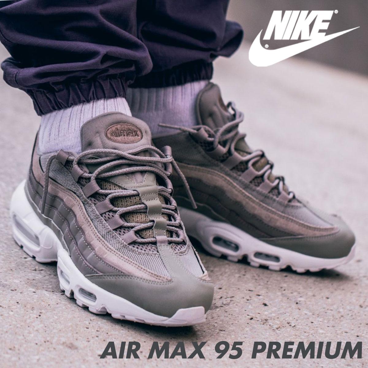 new product dea43 9f2a1 ... Nike NIKE Air Max 95 sneakers AIR MAX 95 PREMIUM 538,416-005 men's shoes  gray ...