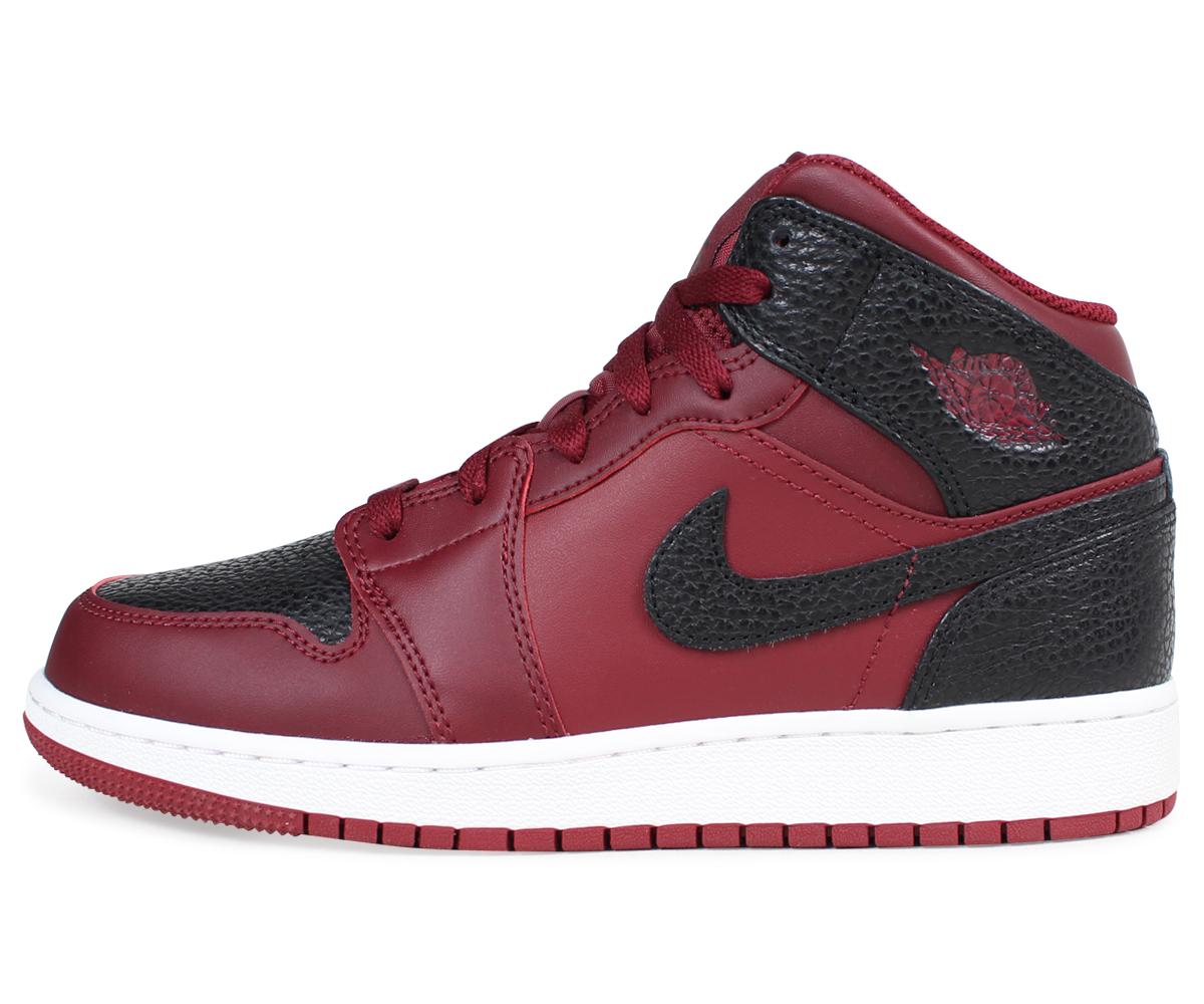1d277a58930 ... NIKE AIR JORDAN 1 MID BG Nike Air Jordan 1 Lady's sneakers 554,725-601  shoes ...