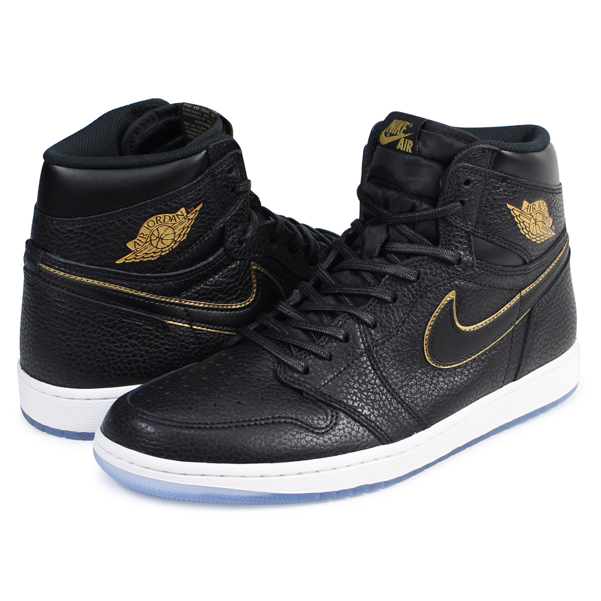 buy online 739e2 1d9fc NIKE AIR JORDAN 1 RETRO HIGH OG Nike Air Jordan 1 nostalgic high sneakers  555,088-031 men s shoes black  load planned Shinnyu load in reservation  product ...