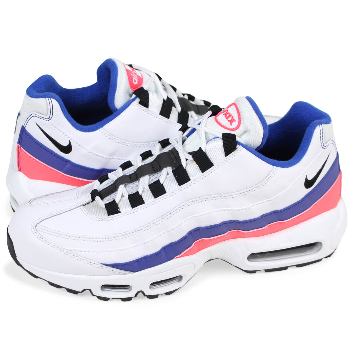 c909e96d0e Whats up Sports: NIKE AIR MAX 95 ESSENTIAL Kie Ney AMAX 95 essential  sneakers men 749,766-106 white [load planned Shinnyu load in reservation  product 2/9 ...