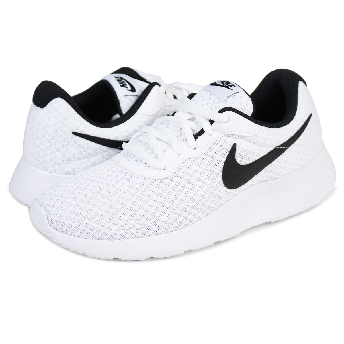 Nike Tanjun White Black Women Size Running Shoes New In Box Original 812655 100